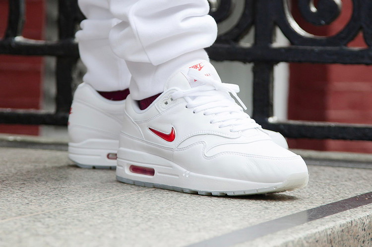 1f8eb7cd44b Nike s Air Max 1 Is the Latest Model to Receive the Jewel Swoosh Treatment