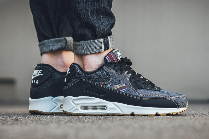 "newest collection 266f7 06de1 Nike Air Max 90 Premium ""Dark Obsidian"" 