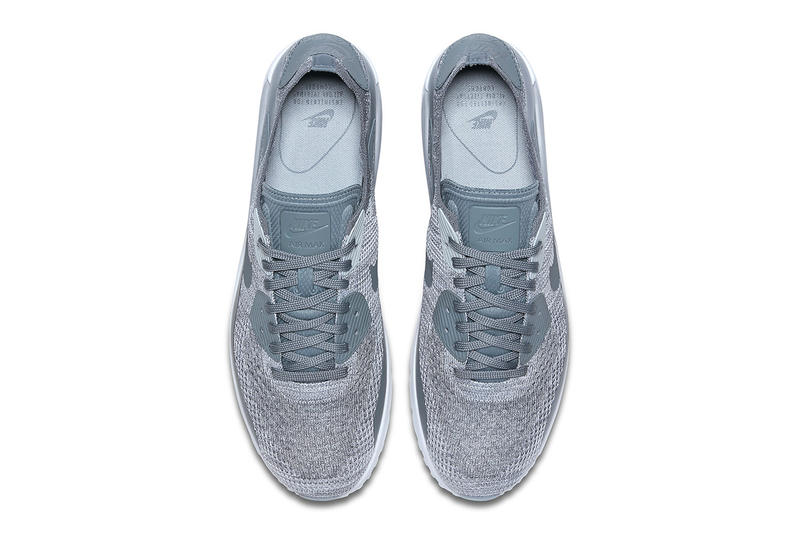 nike air max 90 ultra 2.0 flyknit cool grey sneaker