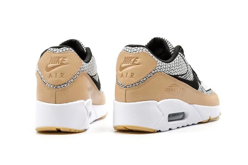 Nike Air Max 90 Ultra 2.0 Jacquard Tan Leather