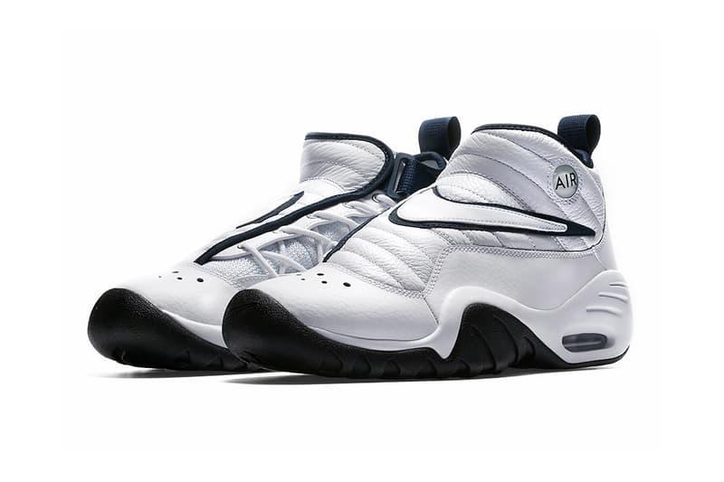 Nike Air Shake NDestrukt White Navy Dennis Rodman