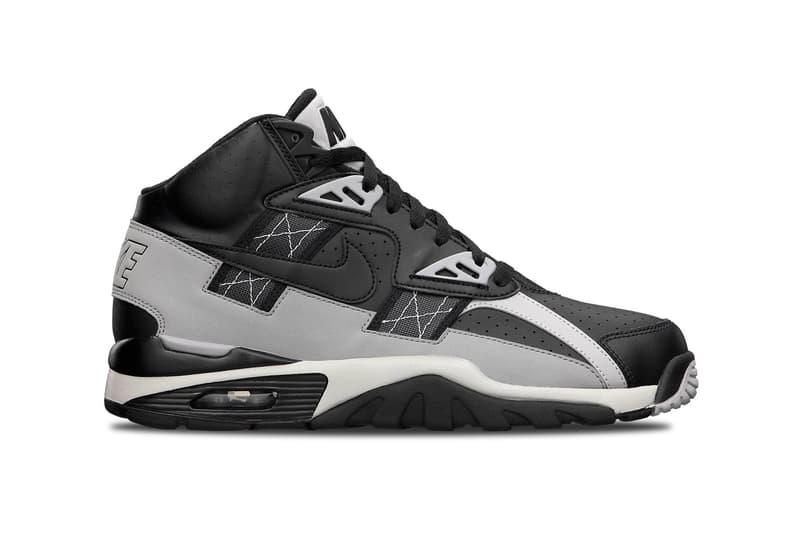 Nike Air Trainer SC High Black/Metallic Silver Footwear Sneakers Shoes