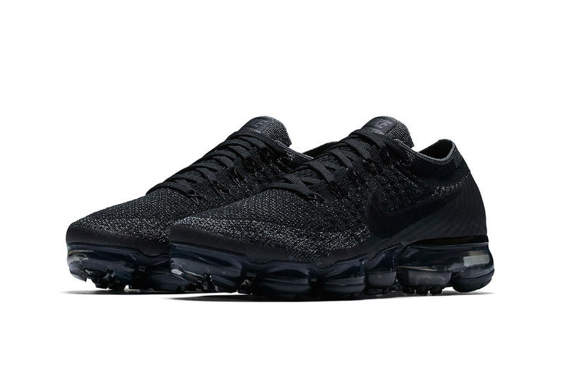 78612b090651 Nike Air Vapormax Flyknit Triple Black Return