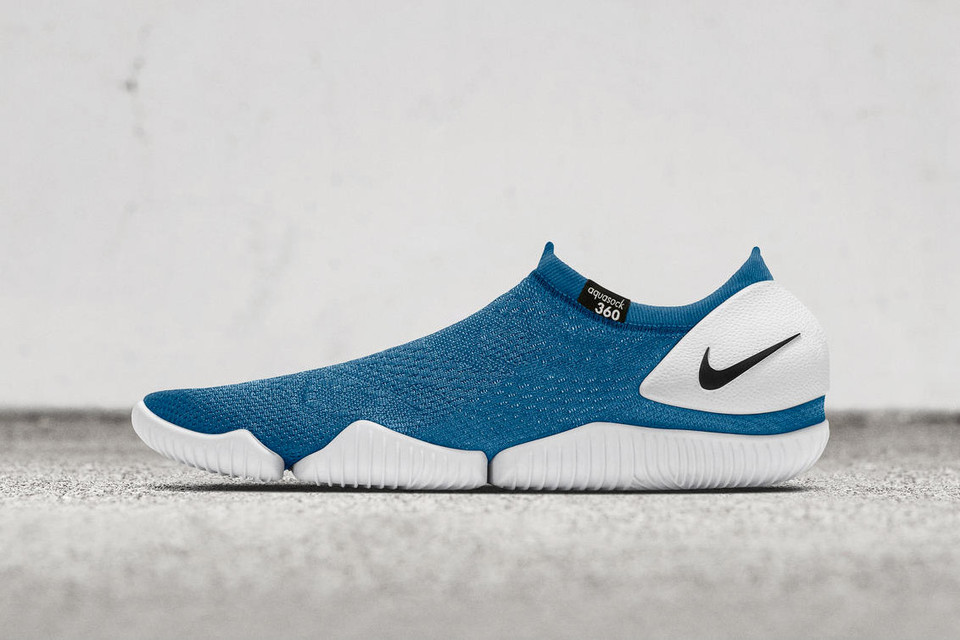 Nike's Aqua Sock 360 Releases in Tonal Black and Blue Colorways