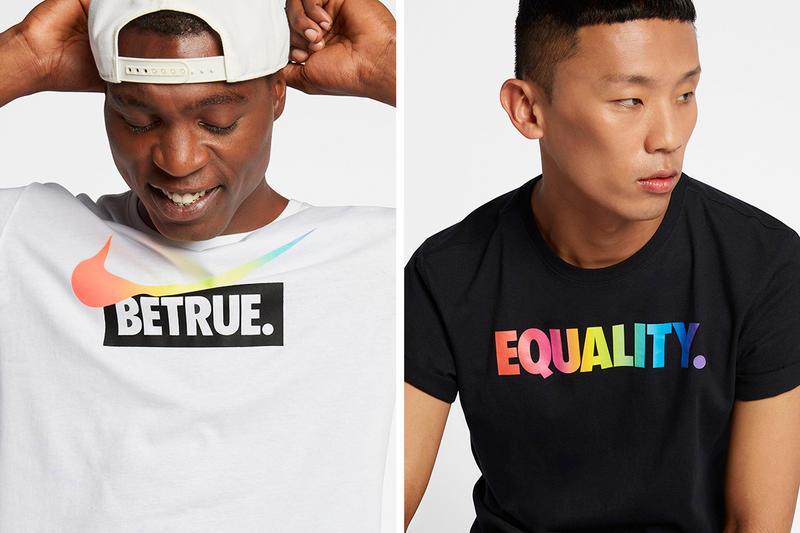 "Nike LGBTQ ""Be True"" 2017 Collection Lookbook Air VaporMax Flyknit Racer"