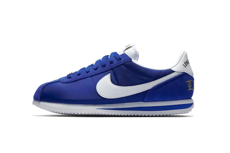 49fe66abd8b5d4 Nike Cortez Nylon 45th Anniversary Long Beach Edition Colorway Royal Blue  Crips Snoop Dogg Los Angeles