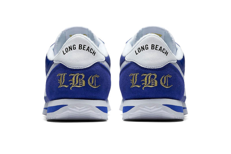 Nike Cortez Nylon 45th Anniversary Long Beach Edition Colorway Royal Blue  Crips Snoop Dogg Los Angeles 66606517e