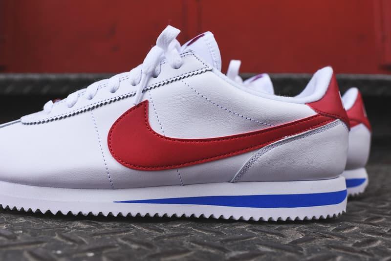 sale retailer 918cd 9c01a Nike Cortez Basic Leather OG White Red Blue