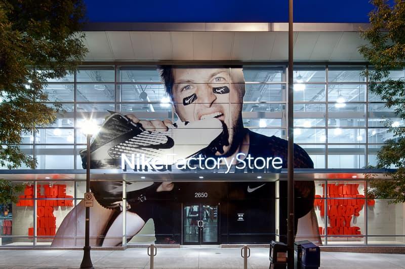 Nike Factory Store Robbery Swoosh