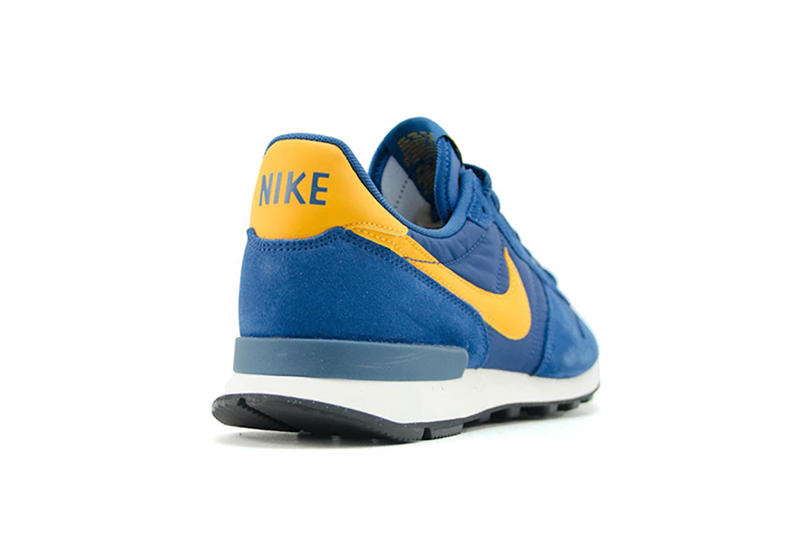 Nike Internationalist Court Blue Yellow Colorway Running Shoe Sneaker