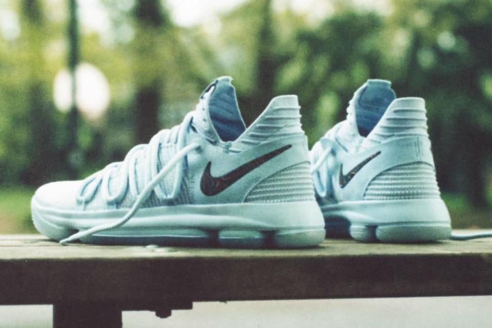 4bdded5c8ea Kevin Durant Unveils Nike KD 10
