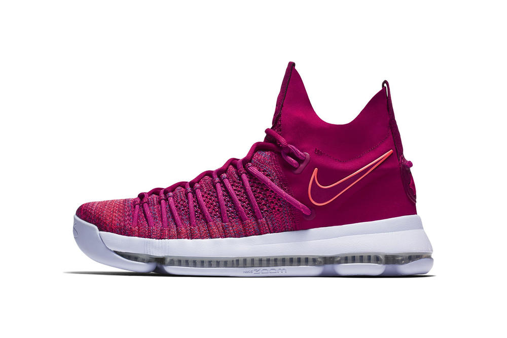 """Nike Introduces A """"Racer Pink"""" Edition of the KD 9 Elite"""