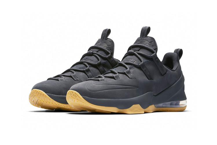"""77ed17ef581 Nike s LeBron 13 Low Gets a Premium """"Anthracite"""" Makeover"""