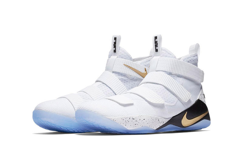 Nike LeBron Soldier 11 SFG white gold black