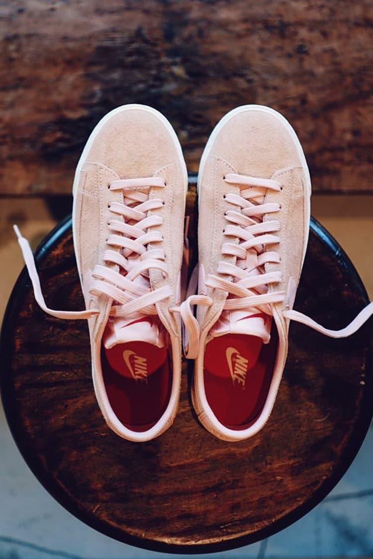 beauty & youth nike blazer low sneaker