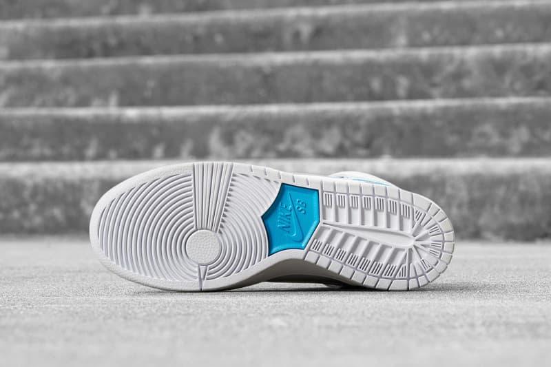 Nike SB Dunk High Richard Mulder White Orion Blue