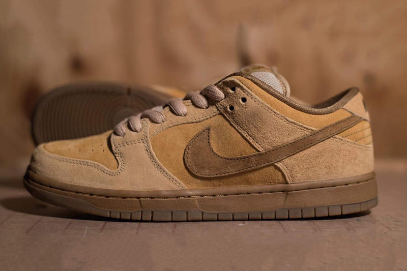 best service 5be51 da75b Nike Dunk Low SB Reverse Wheat Reese Forbes Brown