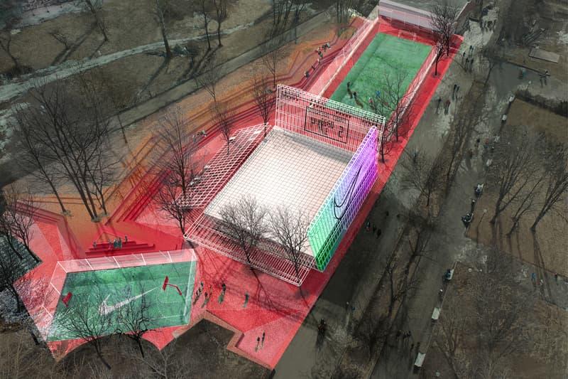 Nike Strelka KB Moscow Gorky Park Kosmos Architects