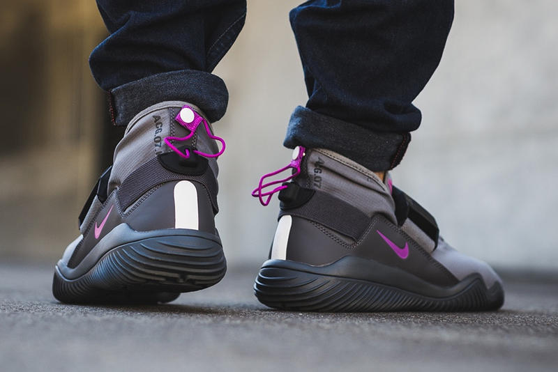 NikeLab ACG 07 KMTR Cool Gray Golden Beige