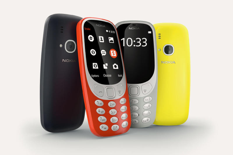 Nokia 3310 colette blue grey red yellow