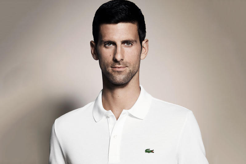 Novak Djokovic Is Now The New Face of Lacoste