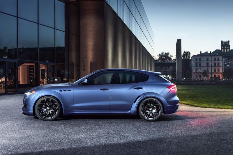 NOVITEC ESTESO Maserati Levante SUV Blue Tuned Performance Custom