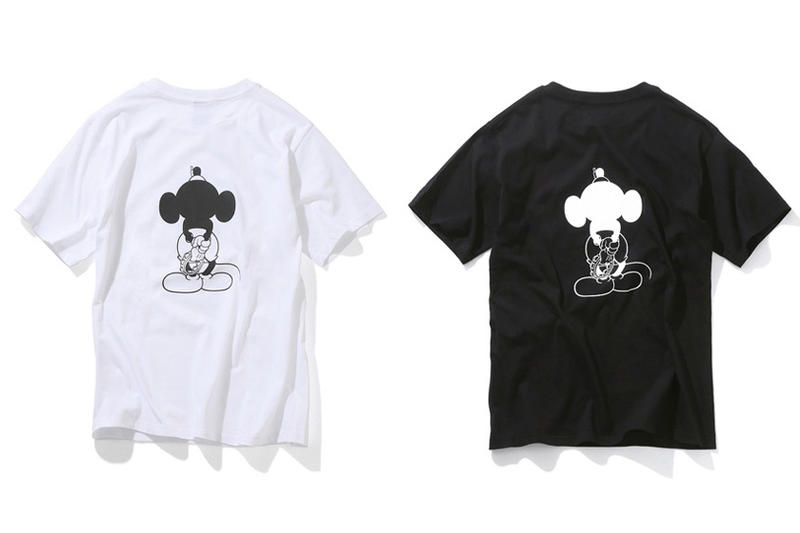 Number (N)ine Mickey Mouse 2017 Exclusive T-Shirts