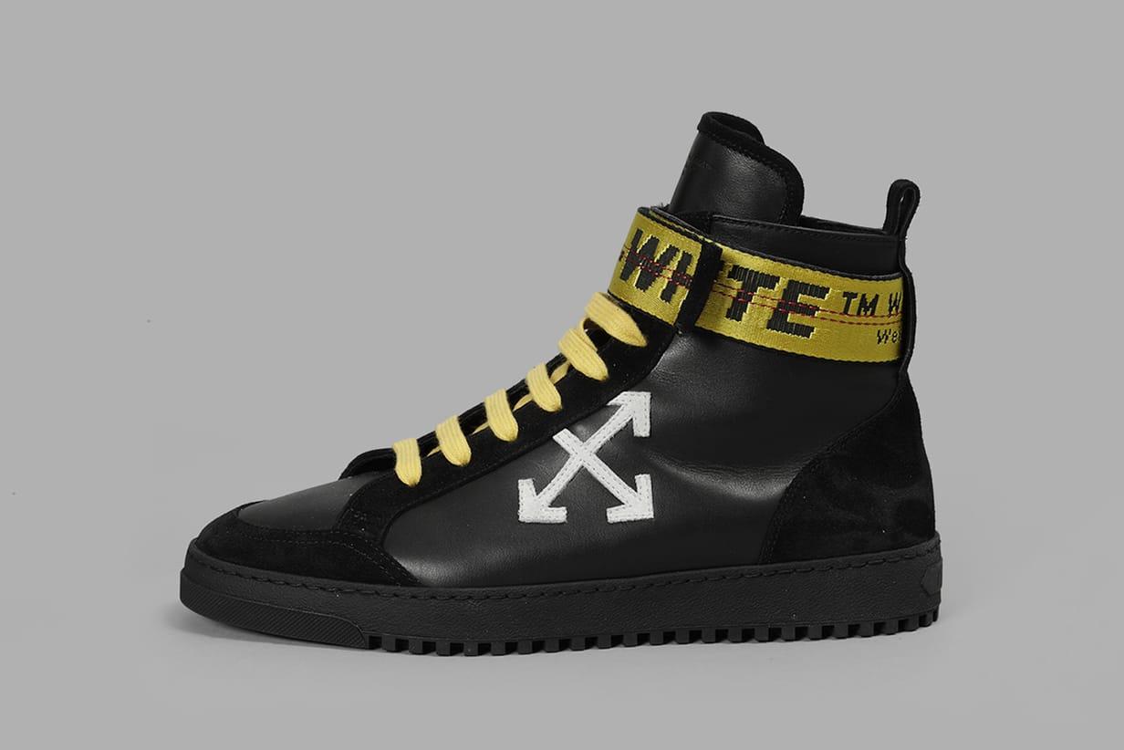 OFF-WHITE 2017 Fall/Winter Footwear Pre