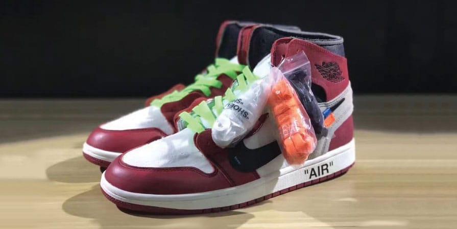OFF-WHITE x Air Jordan 1 Colored Laces