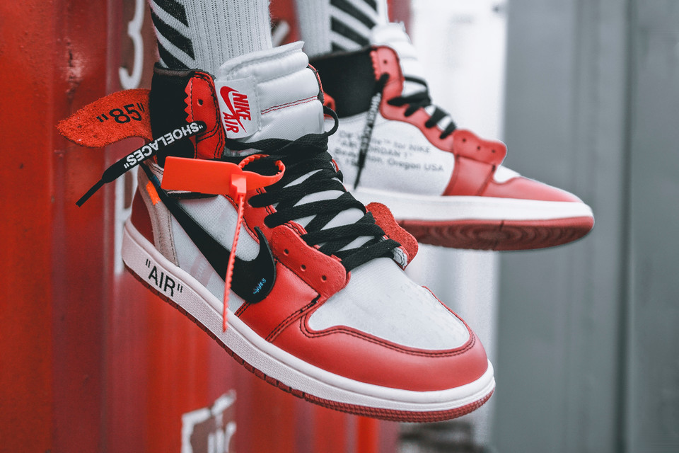 uk availability d0bd5 cfab6 OFF-WHITE x Air Jordan 1 On-Feet Images   HYPEBEAST