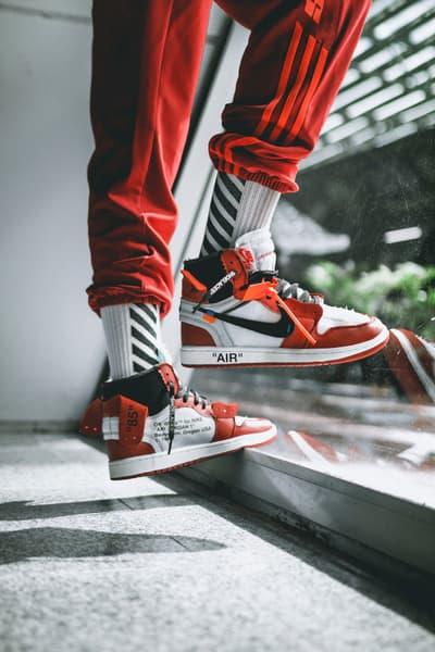 OFF-WHITE Air Jordan 1 On-Feet Virgil Abloh