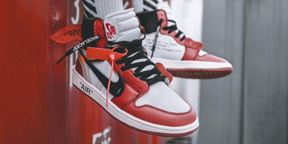 Traducción dormir Evento  OFF-WHITE x Air Jordan 1 On-Feet Images | HYPEBEAST