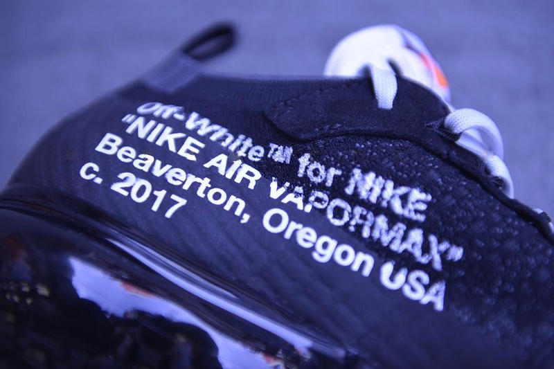 b92d87bbae OFF-WHITE x Nike Air VaporMax Closer Look | HYPEBEAST
