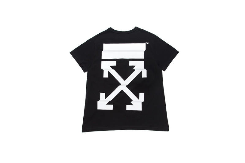 OFF-WHITE c/o VIRGIL ABLOH Hong Kong Exclusive Items Binder Clip Handbag T-shirt Hoodie Jeans