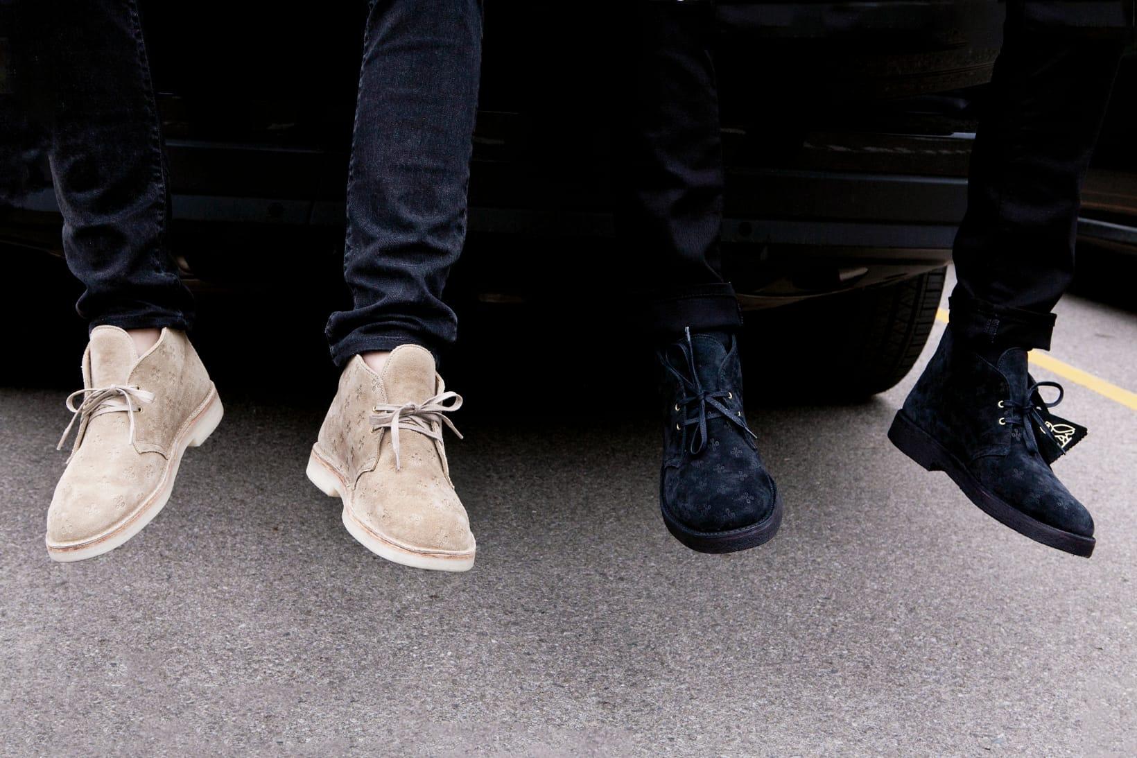 OVO x Clarks Originals Desert Boot