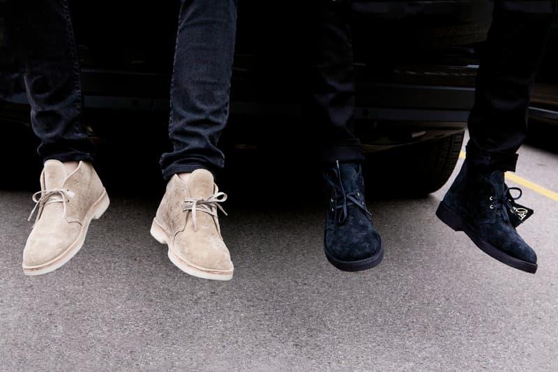 OVO Clarks Originals Desert Boot Lookbook October's Very Own Drake