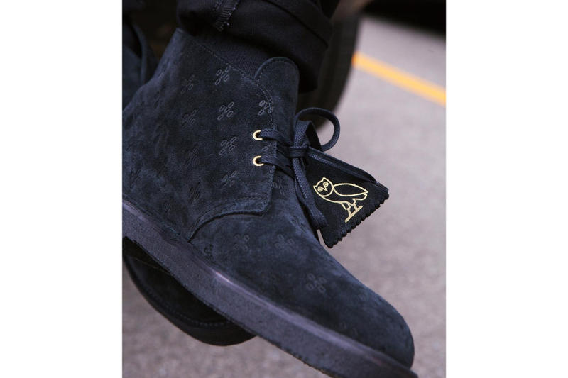 OVO Clarks Originals Desert Boot Made in England October's Very Own Drake