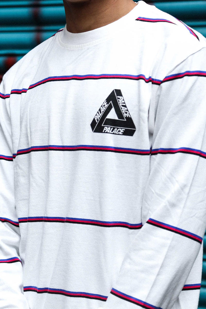 Palace Skateboards 2017 Summer London Drop 2 Tri Ferg