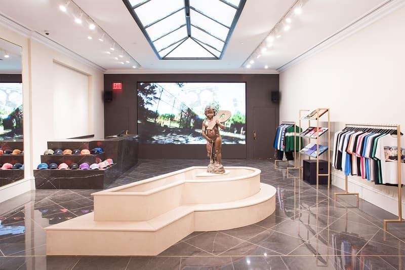 Palace SoHo NYC Store Retail Interior Design Fairy Cherub P Fountain