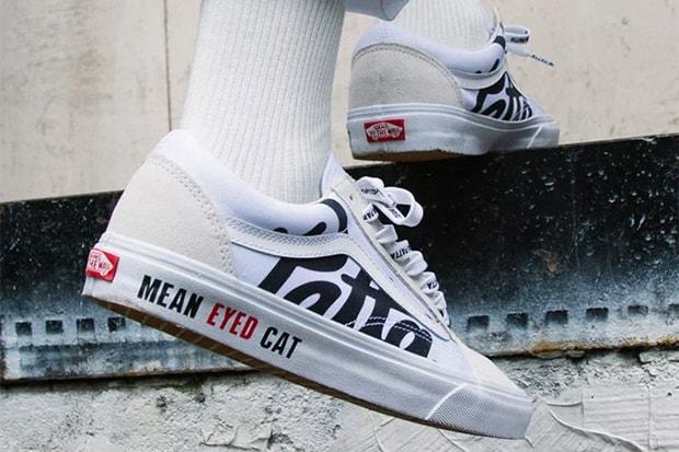 Patta Vans Mean Eyed Cat Old Skool Closer Look Hypebeast