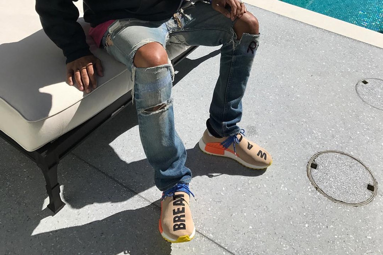 fdfc5956e Pharrell s Latest adidas NMD Human Race Colorways Rumored to Drop This Fall