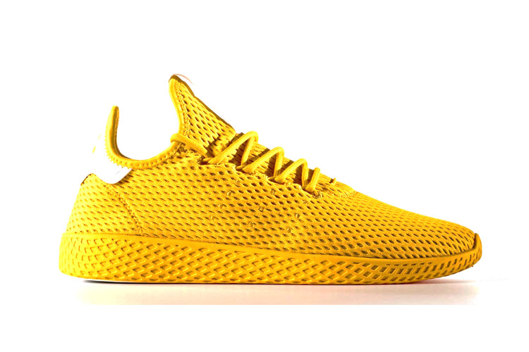 e8b6eb12823d Pharrell x adidas Originals Tennis Hu Drop in Bright Colorways