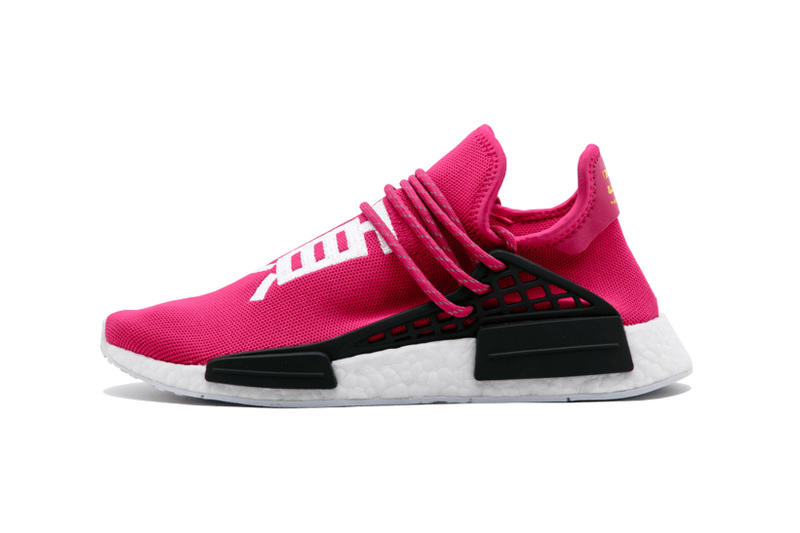 46964a51e Pharrell Williams adidas Originals NMD Human Race Shock Pink Friends and  Family Auction ACLU eBay Stadium