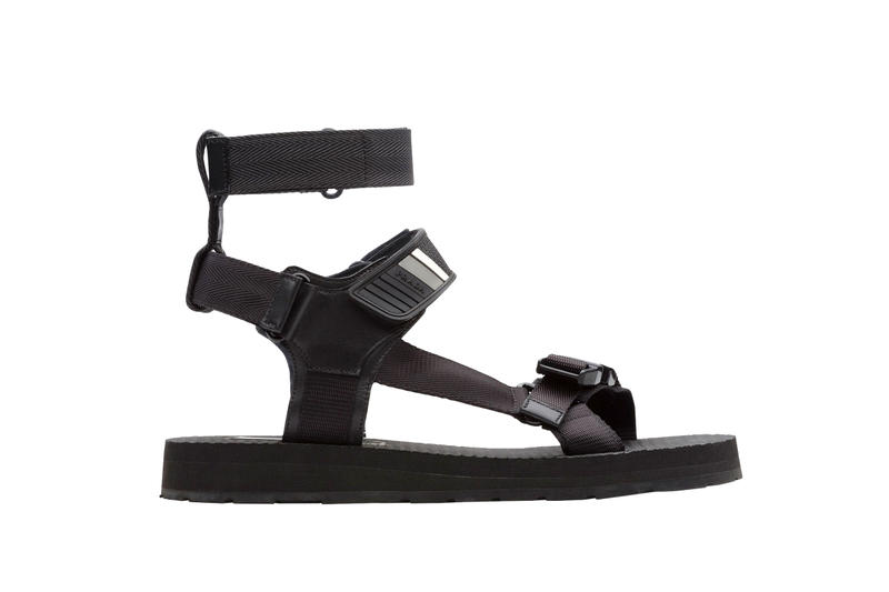 Prada Opts for a Utility Look in Its Latest Summer Sandal