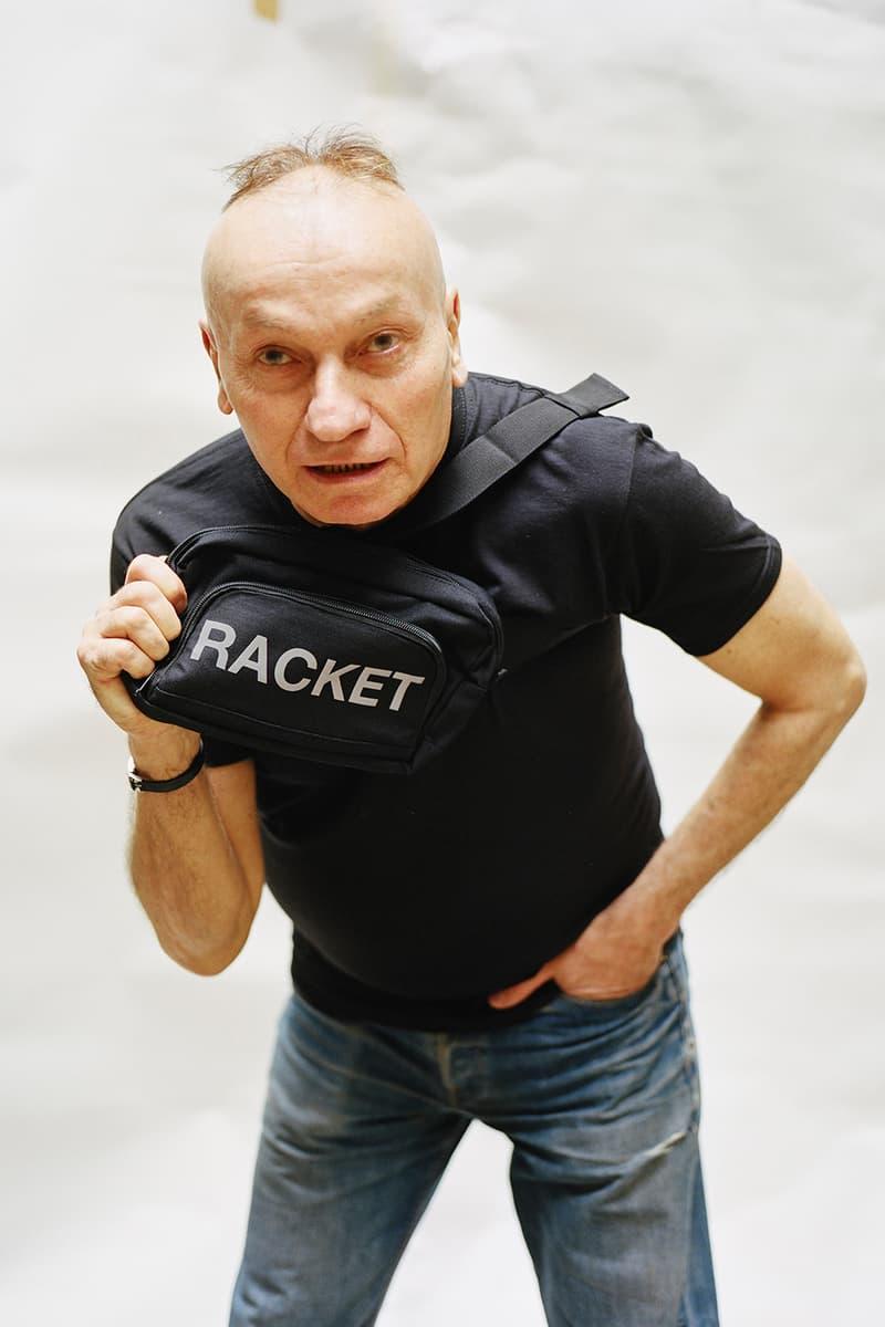 [racket] 2017 Spring/Summer Lookbook Black T-Shirts Caps Hats Vetements Parody