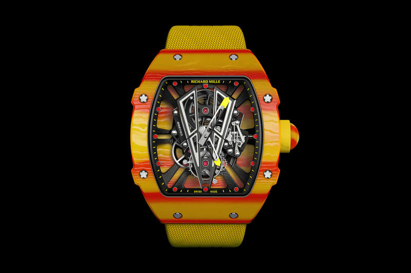 Rafael Nadal French Open Richard Mille RM 27-03 Watch Roland Garros Tennis Timepiece