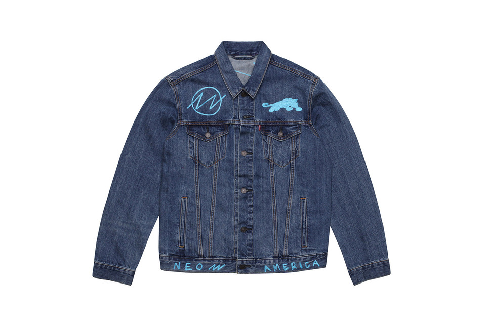 Rare Panther Teams up With Levi's on a Super Limited Trucker Jacket