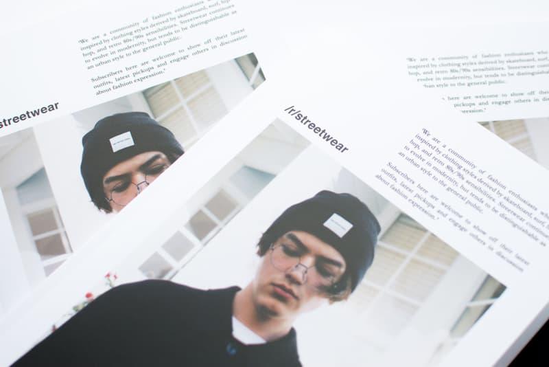 A Redditor Creates an r/streetwear Magazine | HYPEBEAST