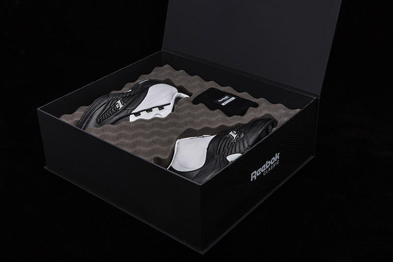 """Reebok Answer IV White Black """"Step Over"""" Playoff Pack"""