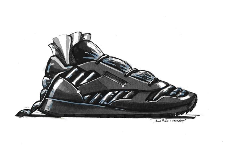 met gala sneaker sketches reebok